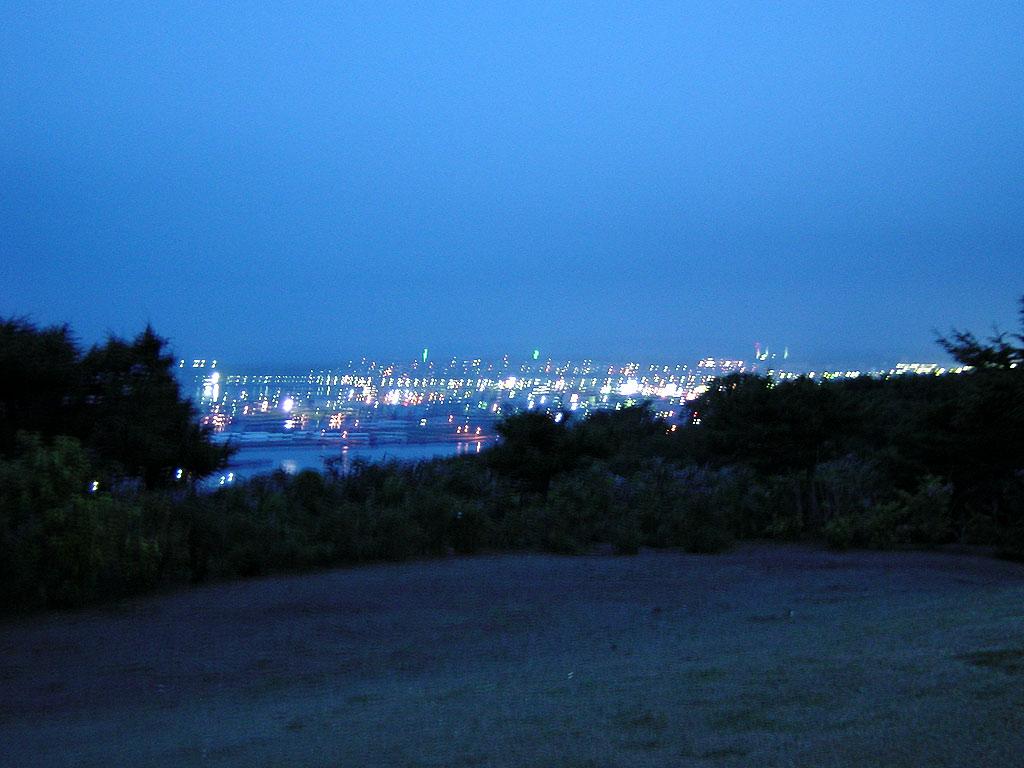 稚内の夜景