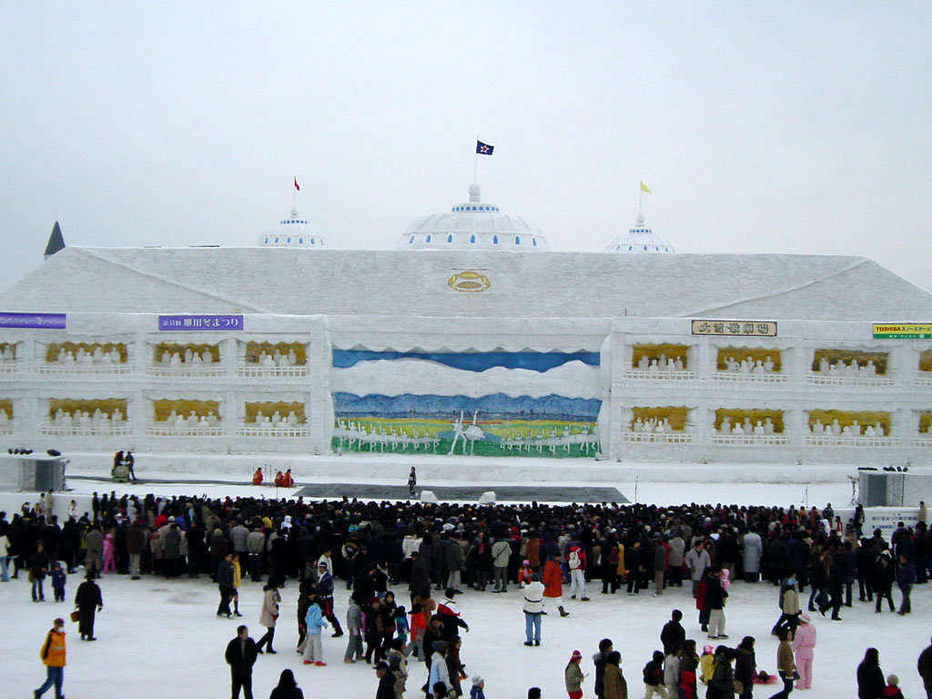 旭川冬まつり 大雪像