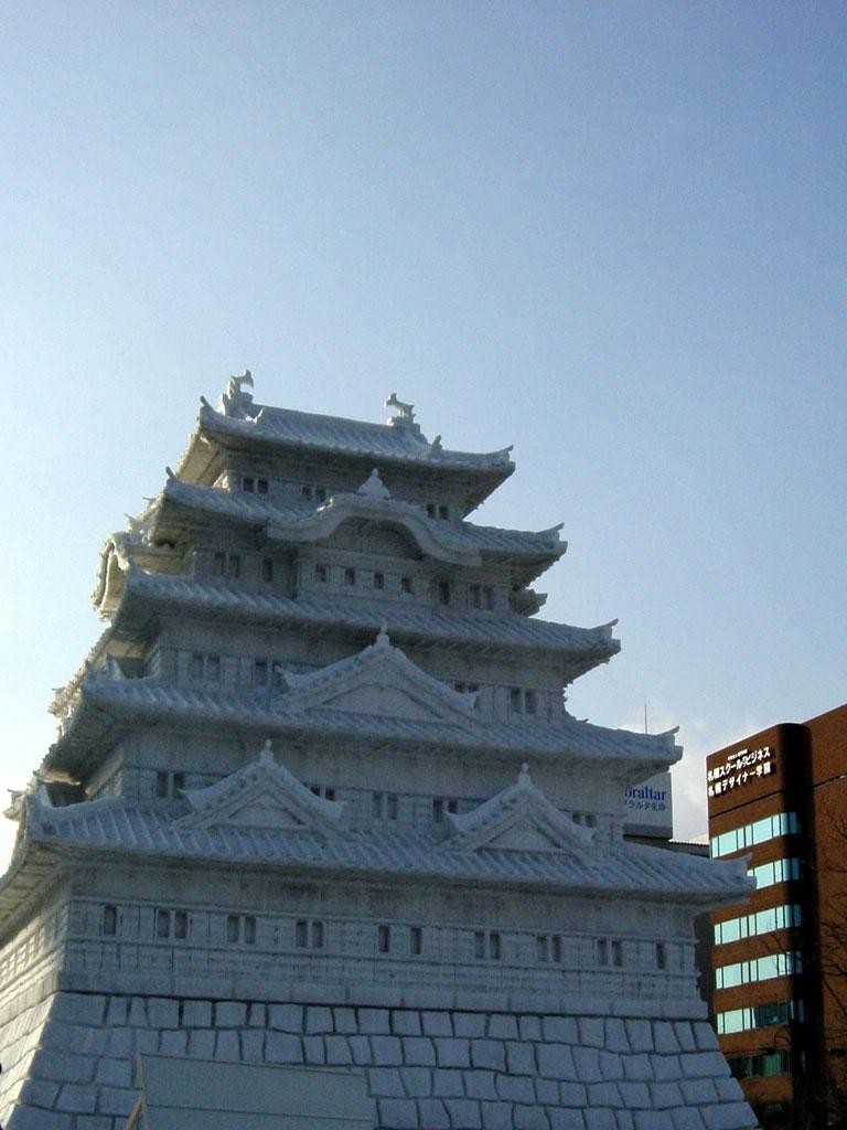 さっぽろ雪まつり 江戸城