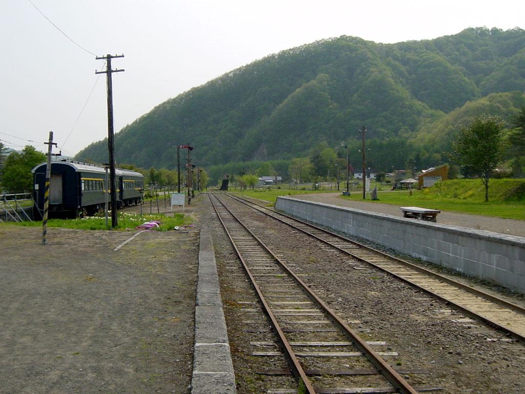 旧富内駅 ホーム