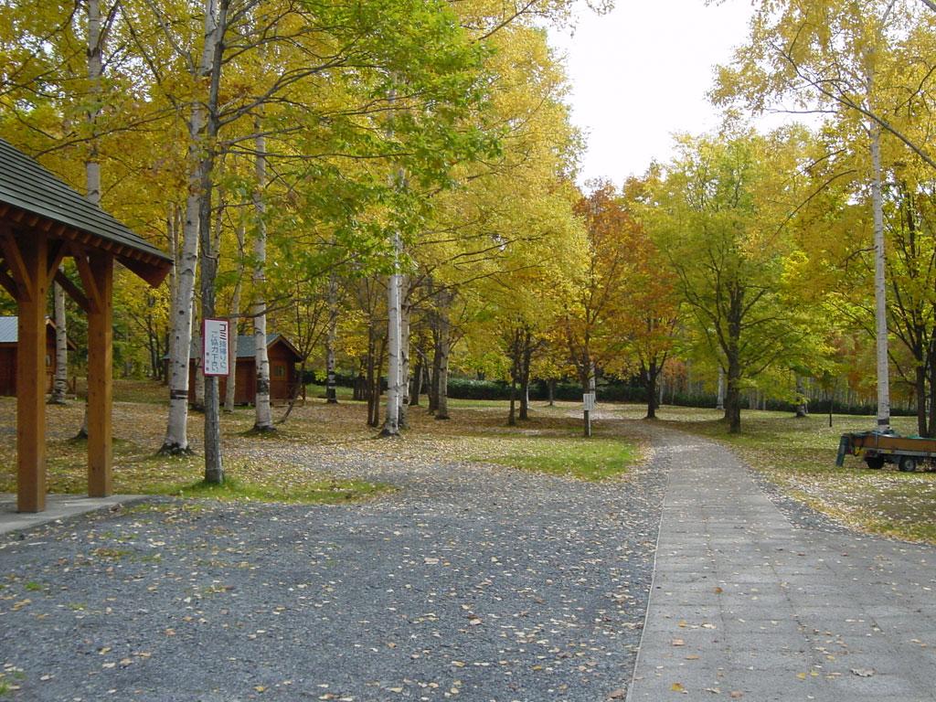 岩尾内湖キャンプ場