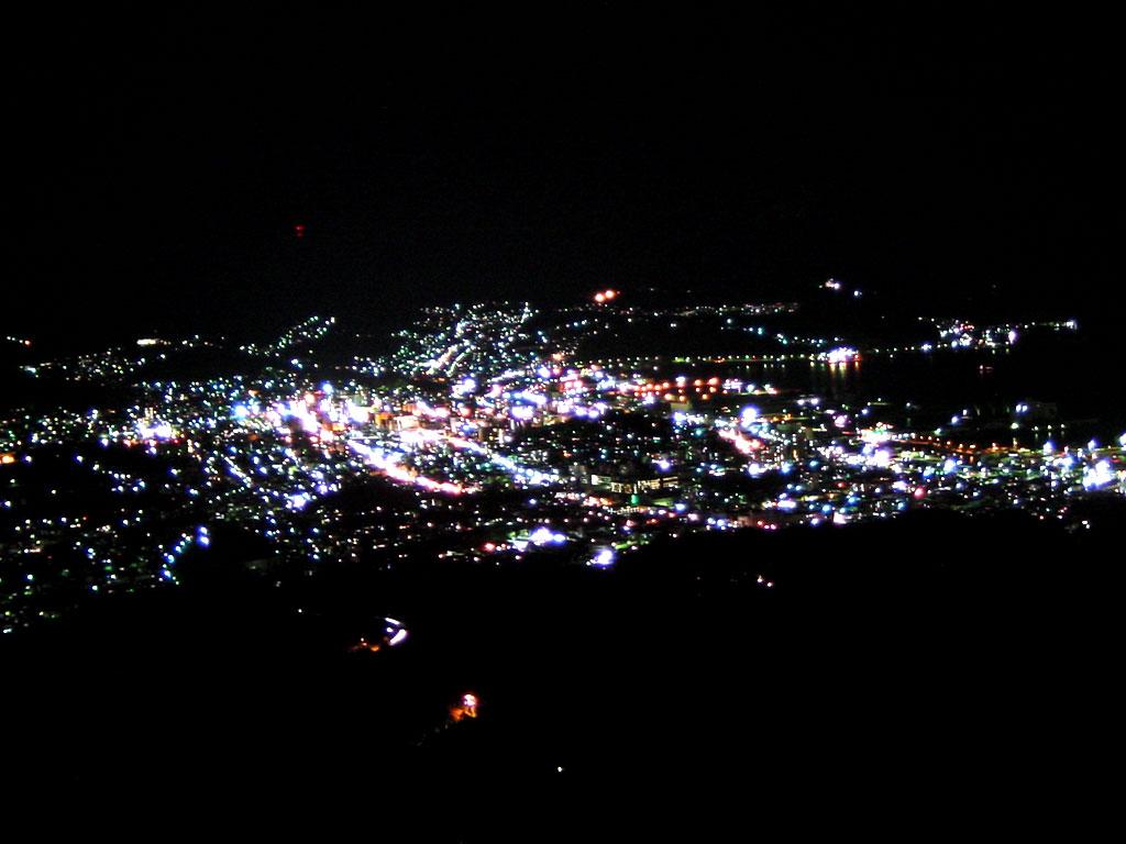 小樽の夜景(毛無山より)