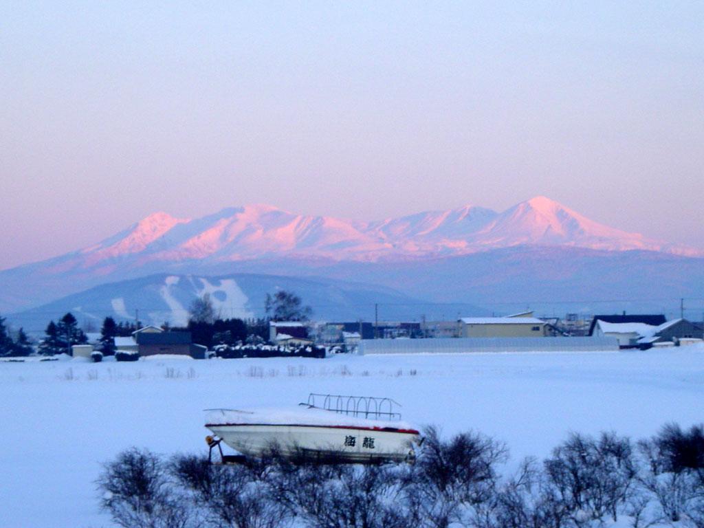 大雪山夕景