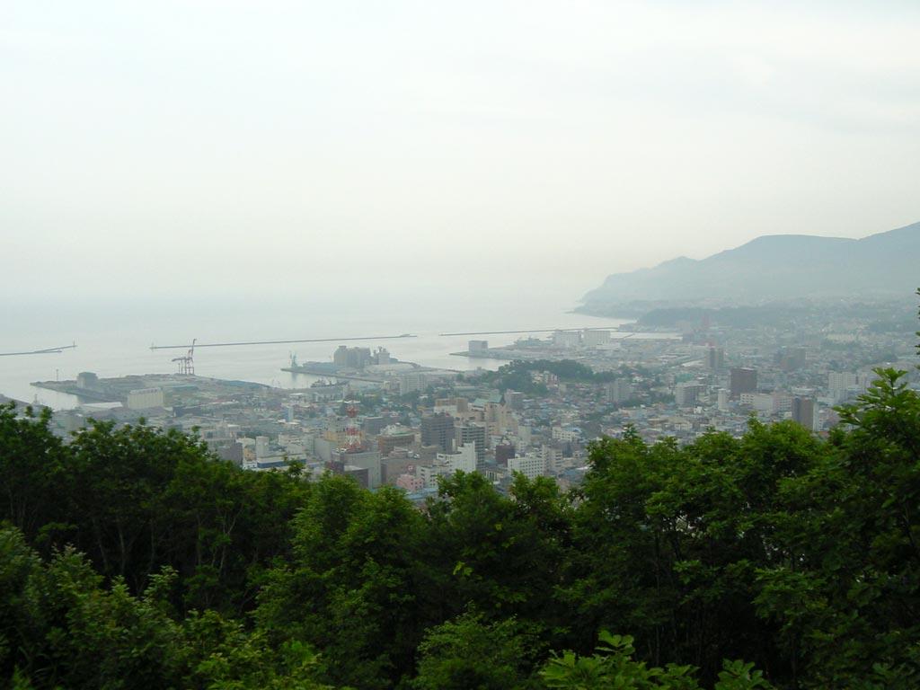 旭展望台からの小樽市街