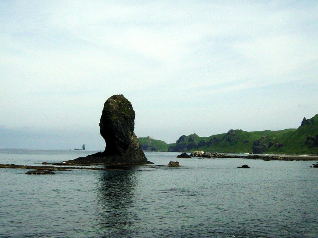 タコ岩(積丹半島)