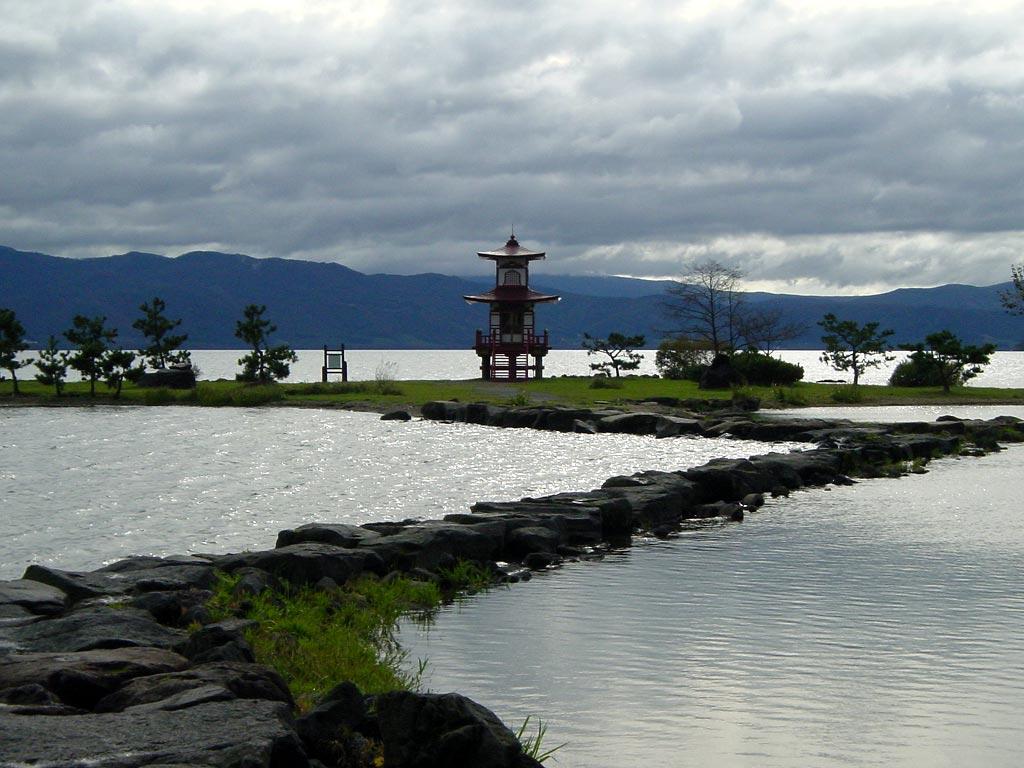 洞爺湖浮見堂