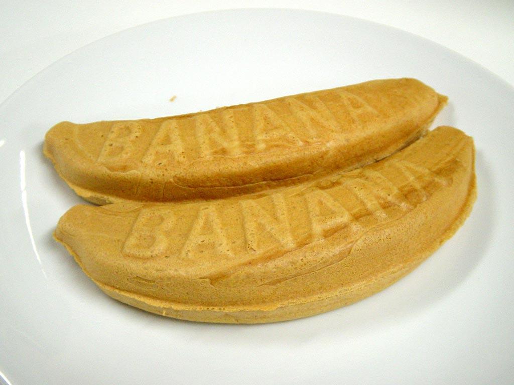 だるまやのバナナ焼き