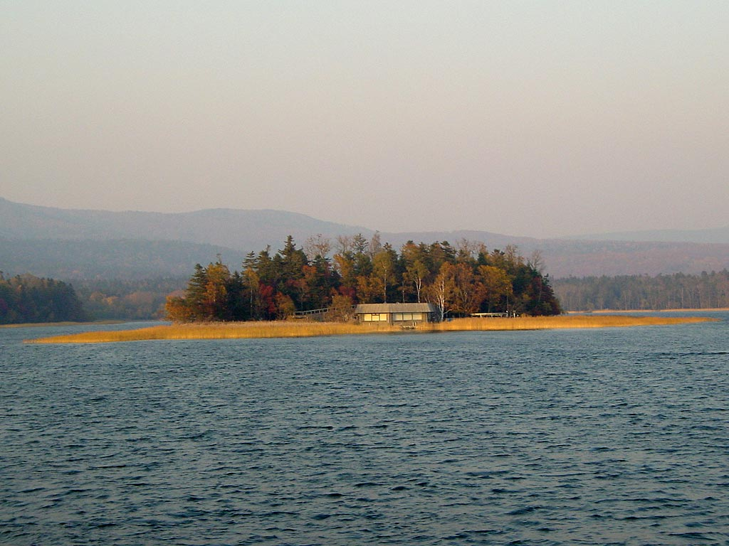 阿寒湖 チュウルイ島