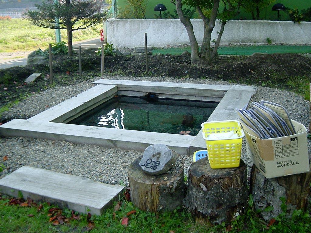 摩周温泉 ホテルニュー子宝の足湯