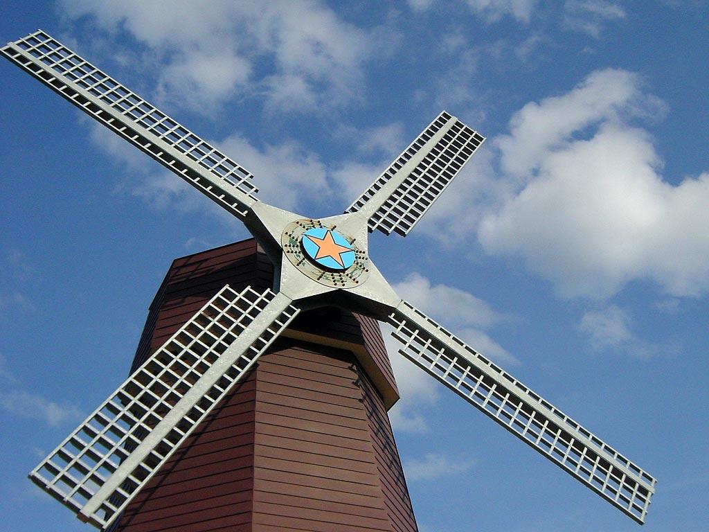 上湧別チューリップ公園の風車