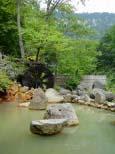 天人閣の露天風呂