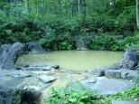 薬師温泉の露天風呂
