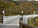 神居古潭の橋