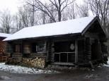 麓郷の森 五郎の丸太小屋