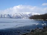 屈斜路湖 冬