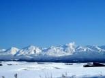 十勝岳連峰 冬