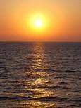 夕陽(増毛)