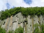 天人峡の柱状節理