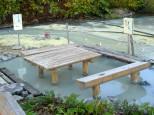 ニセコ大湯沼の足湯