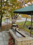 川湯温泉 御園ホテルの足湯