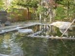 三香温泉の露天風呂